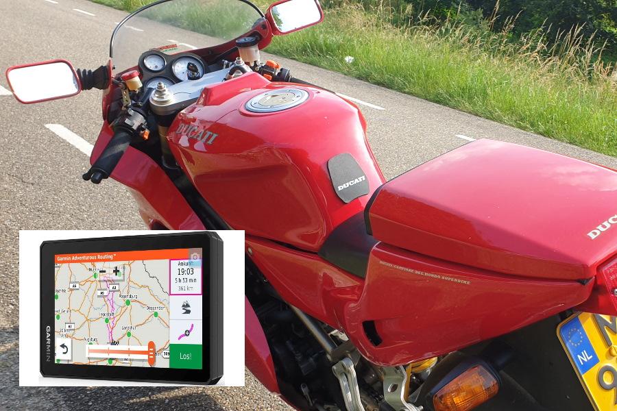 Garmin XT Motornavigatie
