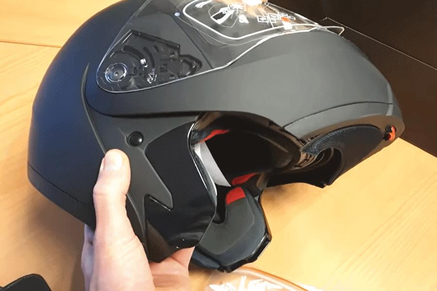 motorhelm test