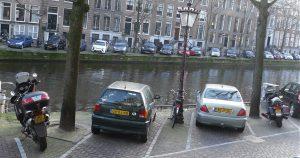 motor parkeren
