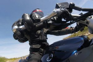 Motorhandschoen motorrijder